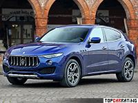 2017 Maserati Levante S = 264 kph, 430 bhp, 5.2 sec.