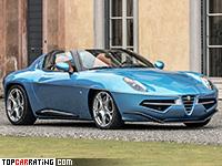 2016 Alfa Romeo Disco Volante Spyder Carrozzeria Touring = 292 kph, 450 bhp, 4.5 sec.