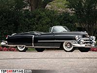 1953 Cadillac Sixty-Two Eldorado Convertible = 175 kph, 213 bhp, 16 sec.