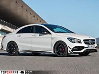 2016 Mercedes-AMG CLA 45 (C117) = 250 kph, 381 bhp, 4.2 sec.