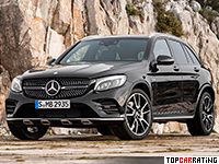 2017 Mercedes-AMG GLC 43 4Matic = 250 kph, 367 bhp, 4.9 sec.