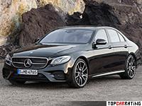 2017 Mercedes-AMG E 43 4Matic = 250 kph, 401 bhp, 4.6 sec.