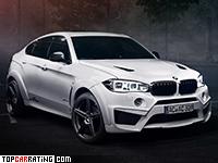 2016 BMW X6M AC Schnitzer Falcon = 305 kph, 650 bhp, 3.9 sec.