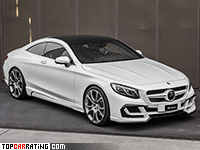 2016 Mercedes-Benz S63 AMG Coupe FAB Design Ethon = 300 kph, 630 bhp, 4.1 sec.
