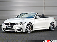 2016 BMW M4 Convertible B&B = 330 kph, 580 bhp, 3.5 sec.