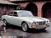 1968 Jaguar XJ6 = 200 kph, 248 bhp, 8.8 sec.