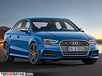 2017 Audi S3 Sedan = 250 kph, 310 bhp, 4.8 sec.