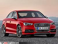 2014 Audi S3 Sedan = 250 kph, 300 bhp, 5.1 sec.