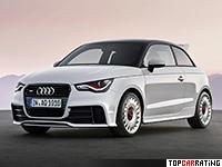 2012 Audi A1 Quattro = 245 kph, 256 bhp, 5.7 sec.