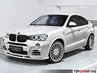 2016 BMW X4 xDrive35d Hamann = 260 kph, 381 bhp, 5 sec.