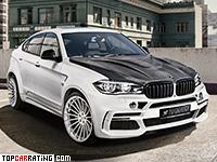 2016 BMW X6 M Hamann Widebody (F86) = 300 kph, 640 bhp, 4.1 sec.