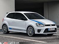 2013 Volkswagen Polo R WRC Street = 243 kph, 220 bhp, 6.4 sec.