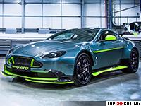 2016 Aston Martin Vantage GT8 = 308 kph, 446 bhp, 4.4 sec.