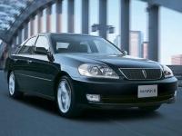 2002 Toyota Mark II 2.5 IR-V (X110) = 235 kph, 280 bhp, 5.5 sec.