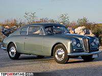 1953 Lancia Aurelia GT Coupe 2500 = 180 kph, 118 bhp, 11.8 sec.