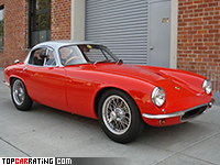 1962 Lotus Elite Super 105 = 221 kph, 105 bhp, 7.1 sec.