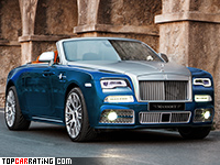 2016 Rolls-Royce Dawn Mansory = 287 kph, 750 bhp, 4.7 sec.
