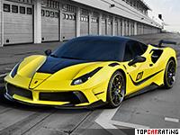 2016 Ferrari Mansory 4XX Siracusa = 341 kph, 790 bhp, 2.9 sec.