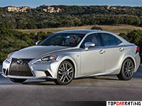 2013 Lexus IS 350 F-Sport = 230 kph, 310 bhp, 5.9 sec.