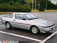1982 Mitsubishi Starion Turbo GSR-X = 193 kph, 146 bhp, 8.6 sec.