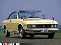 1969 Mazda Luce R130 Coupe = 190 kph, 128 bhp, 8.7 sec.