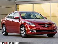 2009 Mazda 6 V6 (GH) = 250 kph, 275 bhp, 5.8 sec.