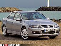 2005 Mazda 6 MPS (GG) = 240 kph, 260 bhp, 6.6 sec.