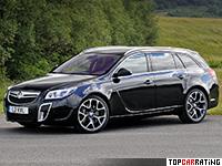 2009 Vauxhall Insignia VXR Sports Tourer = 250 kph, 325 bhp, 6.3 sec.