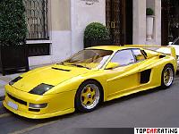 1991 Koenig Competition Evolution 1000 = 370 kph, 1000 bhp, 3.4 sec.