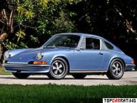1971 Porsche 911 S 2.4 Coupe (901) = 230 kph, 190 bhp, 6.9 sec.