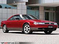 1990 Mazda Eunos Cosmo E20B = 244 kph, 280 bhp, 5.7 sec.