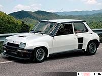 1983 Renault 5 Turbo 2 = 210 kph, 162 bhp, 6.6 sec.