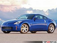 2002 Nissan 350Z = 250 kph, 287 bhp, 5.9 sec.