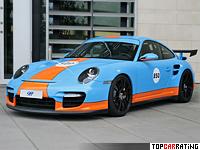2009 9ff 911 BT-2 (Porsche 911 GT2) = 386 kph, 850 bhp, 3 sec.