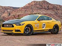 2017 Ford Mustang Shelby Terlingua = 335 kph, 750 bhp, 3.6 sec.