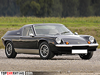 1973 Lotus Europa Special TwinCam = 198 kph, 126 bhp, 7.4 sec.