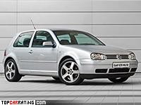 2001 Volkswagen Golf GTI (Typ 1J) = 228 kph, 210 bhp, 7.4 sec.