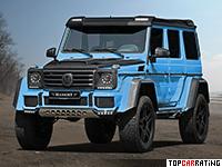 2016 Mercedes-Benz G500 4x4² Mansory = 210 kph, 485 bhp, 7 sec.