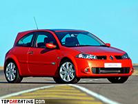 2004 Renault Megane RS = 236 kph, 224 bhp, 6.5 sec.