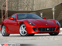2006 Ferrari 599 GTB Fiorano = 330 kph, 620 bhp, 3.7 sec.