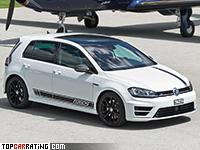 2017 Volkswagen Golf R360S = 265 kph, 360 bhp, 4.7 sec.