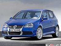 2006 Volkswagen Golf R32 (Typ 1K) = 248 kph, 250 bhp, 6.2 sec.