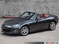 2013 Mazda MX-5 Miata (NC3) = 215 kph, 167 bhp, 8.3 sec.