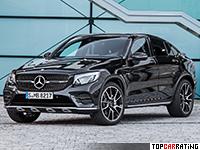 2017 Mercedes-AMG GLC 43 Coupe = 250 kph, 367 bhp, 4.9 sec.