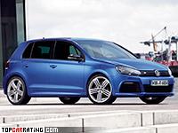 2009 Volkswagen Golf R (Typ 5K) = 250 kph, 270 bhp, 5.7 sec.