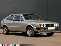 1976 Volkswagen Scirocco GTI = 185 kph, 111 bhp, 8.9 sec.