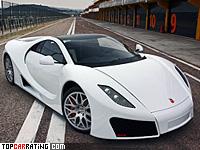 2009 GTA Spano = 350 kph, 780 bhp, 2.9 sec.