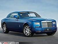 2013 Rolls-Royce Phantom Coupe Series II = 250 kph, 460 bhp, 5.8 sec.