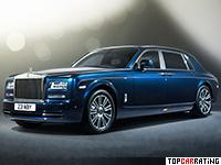 2013 Rolls-Royce Phantom EWB Series II = 240 kph, 460 bhp, 6.1 sec.