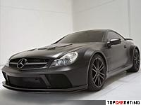 2010 Brabus T65 RS Mercedes-Benz SL65 AMG Black Series (R230) = 330 kph, 800 bhp, 3.6 sec.